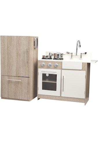 TEAMSON™ KIDS  Spielküche »braun/weiß« kaufen