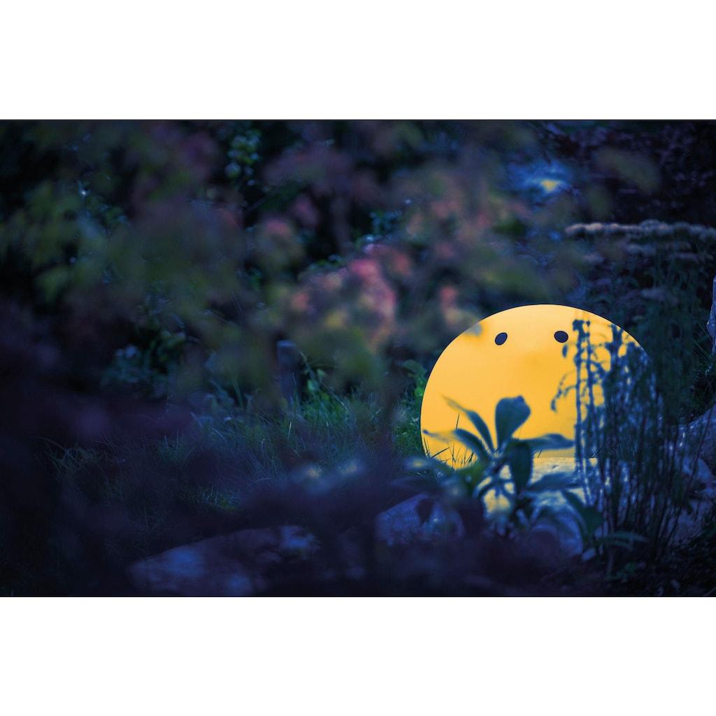 now! by hülsta Gartenleuchte »moonbirdy«, Warmweiß, zum Sitzen bis 100 kg