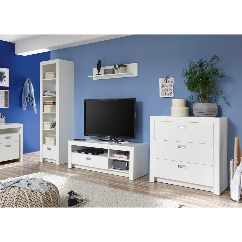 Begabino TV-Bank »Alaska«, mit 3 Fächern und Schubkasten