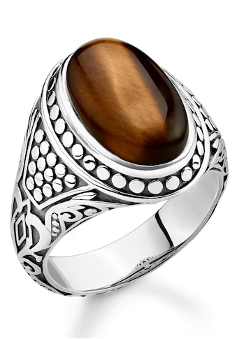 THOMAS SABO Silberring »Braun, TR2241 - 826 - 2 - 50, 52, 54, 56, 58, 60, 62, 64, 66, 68« kaufen