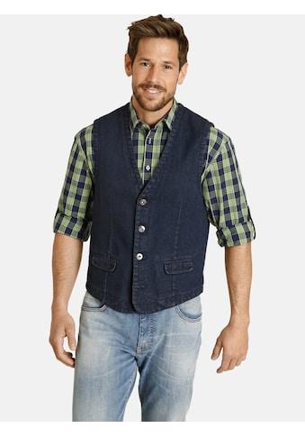 Jan Vanderstorm Jeansweste »VALFRID«, mit zwei Pattentaschen kaufen