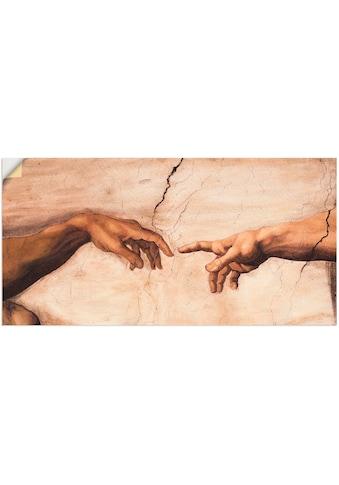 Artland Wandbild »Hände«, Religion, (1 St.), in vielen Größen & Produktarten - Alubild... kaufen