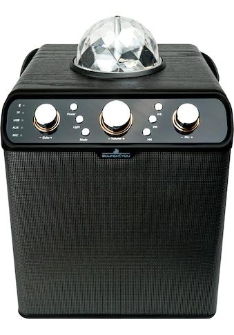 Schwaiger Bluetooth Lautsprecher, Party Speaker mit Disco-Licht kaufen