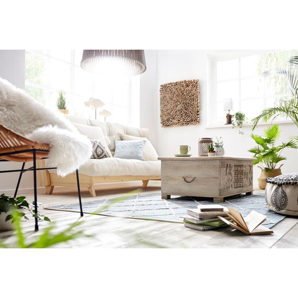 Home affaire Teppich »Halef«, rechteckig, 10 mm Höhe, Wendeteppich, Wohnzimmer