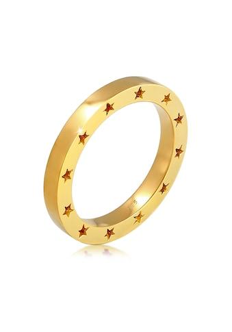 Elli Fingerring »Stern Side Cut Out Bandring 925 Silber« kaufen