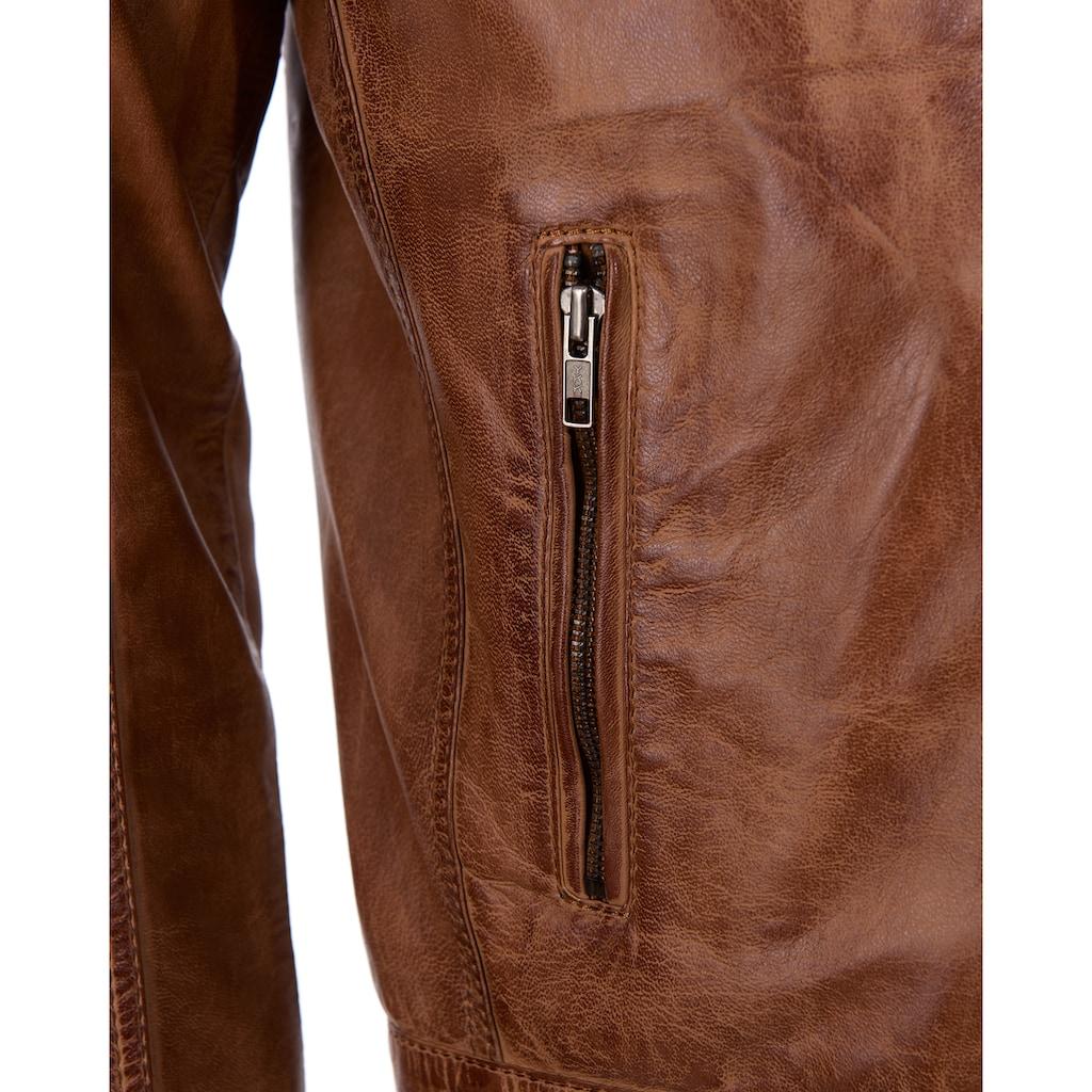 JCC Lederjacke »993«, inkl. zwei Brusttaschen