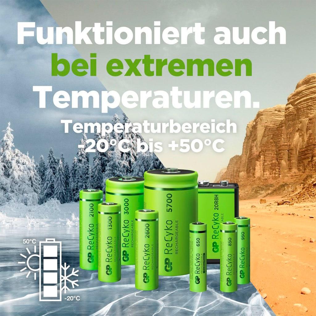 GP Batteries Akku »AAA Akku GP NiMH 850 mAh ReCyko 1,2V 4 Stück«, AAA, 850 mAh