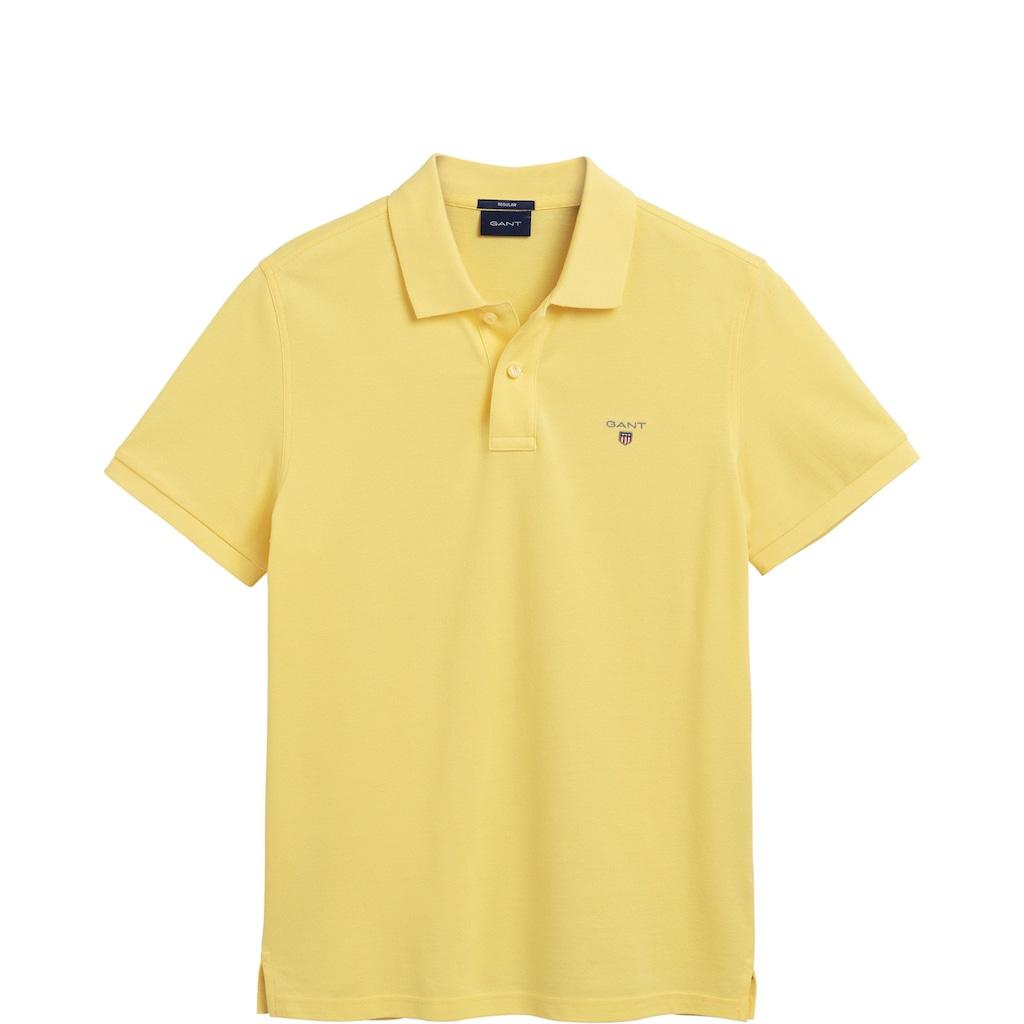 Gant Poloshirt, mit 2-Knopf-Verschluss