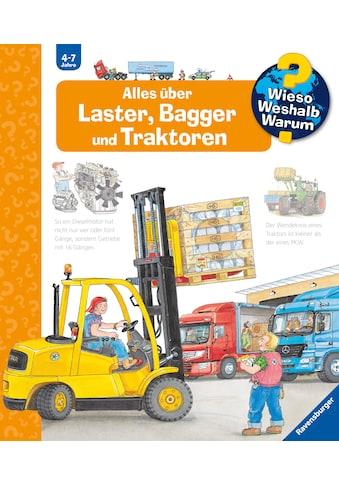Buch Alles über Laster, Bagger und Traktoren / Andrea Erne, Wolfgang Metzger kaufen