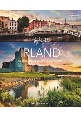 Buch »Highlights Irland / Jörg Berghoff, Hartmut Krinitz« kaufen