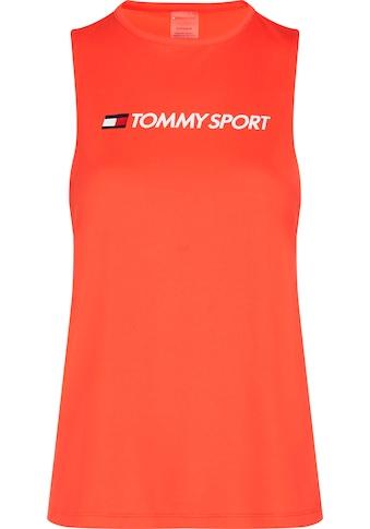 TOMMY SPORT Sporttop »PERFORMANCE TANK TOP LOGO« kaufen