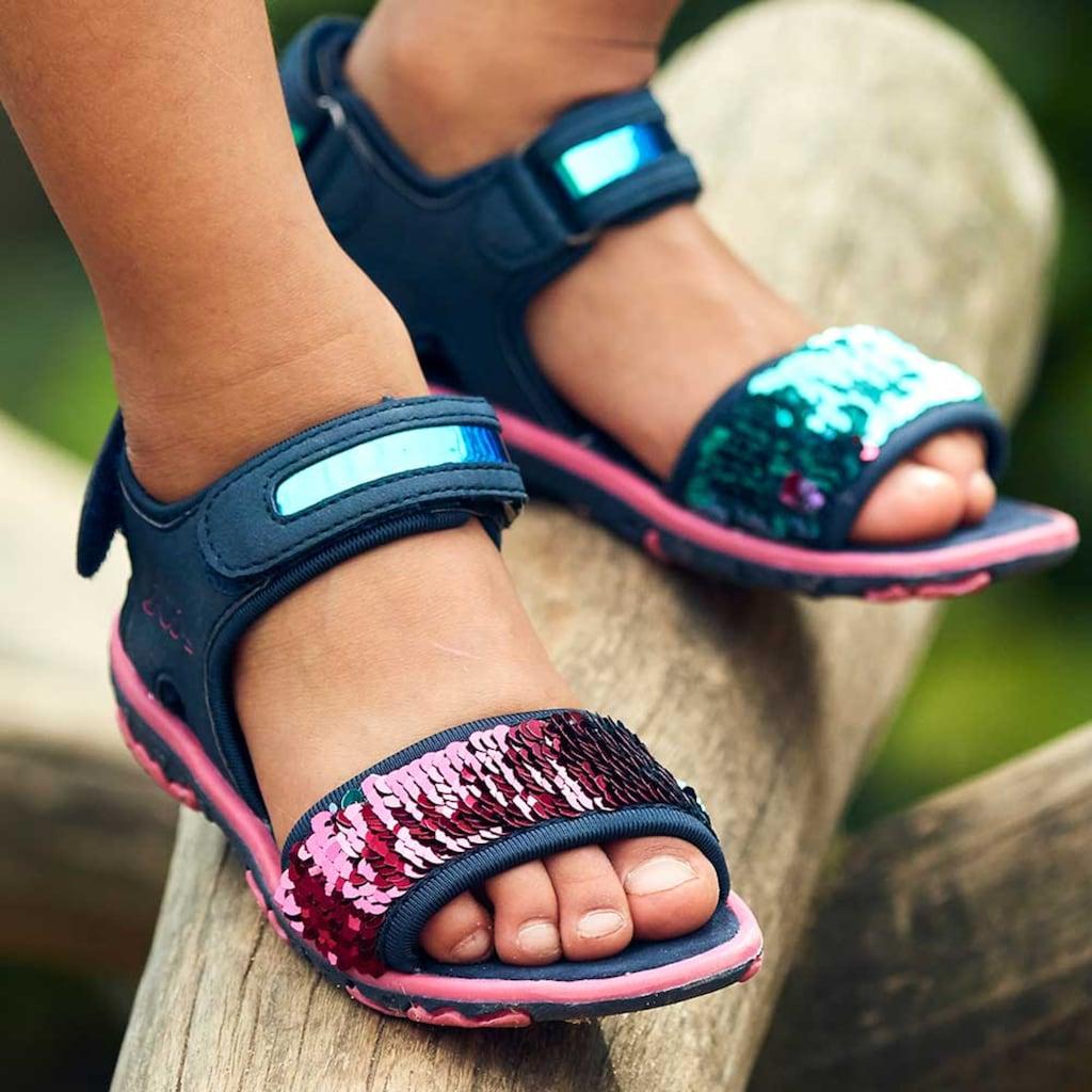 Kappa Sandale »SEAQUEEN KIDS«, mit Wendepailetten