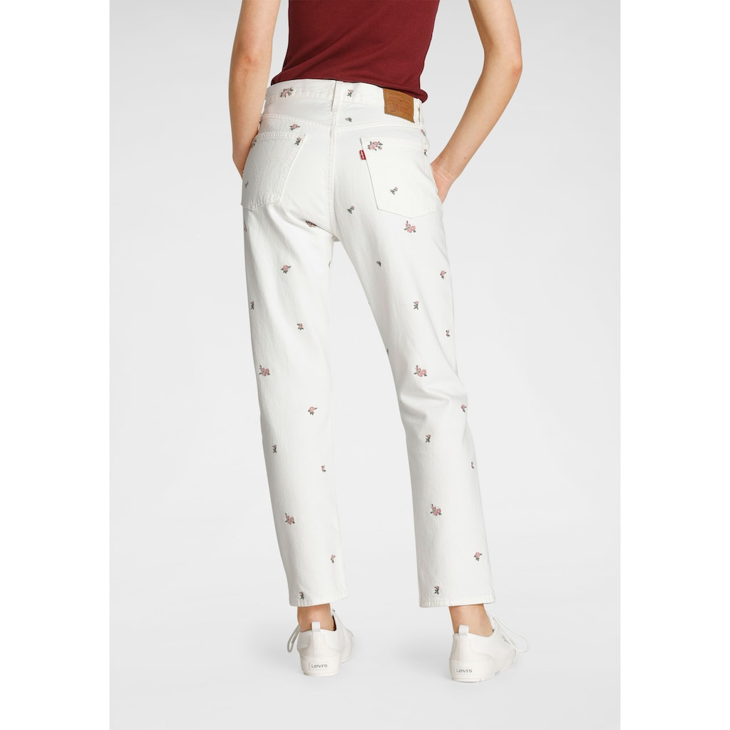 Levi's® Straight-Jeans »501 Crop«, High Waist im Cropped Style