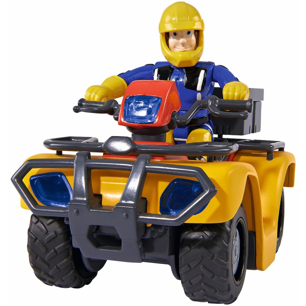 SIMBA Spielzeug-Auto »Feuerwehrmann Sam, Quad Mercury mit Figur«