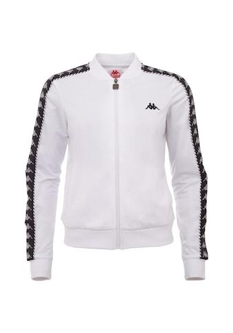 Kappa Trainingsjacke »IMILIA«, mit Jacquard Logoband an den &Auml;rmeln<br /> kaufen