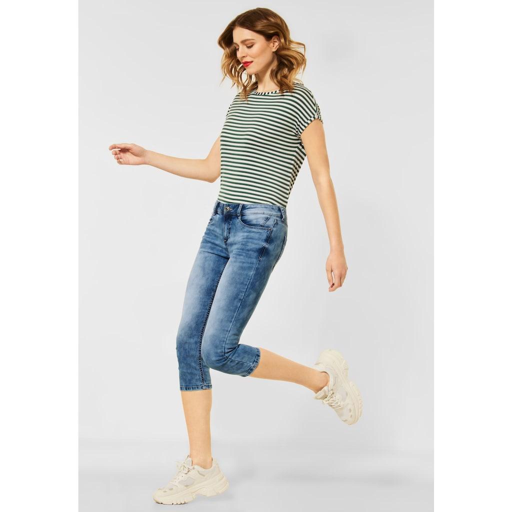 STREET ONE 3/4-Jeans, 4-Pocket Style