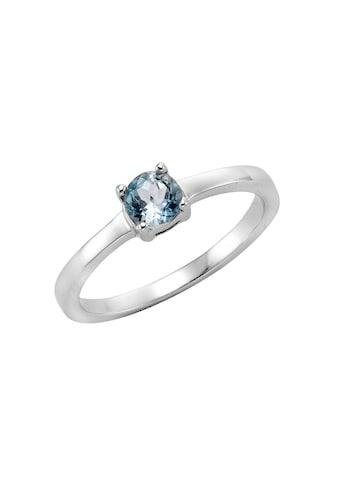 Zeeme Ring »925/ -  Sterling Silber Blautopas« kaufen