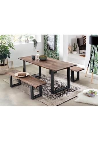 SIT Esstisch »Tops&Tables«, mit Tischplatte aus Akazie mit Baumkante wie gewachsen kaufen