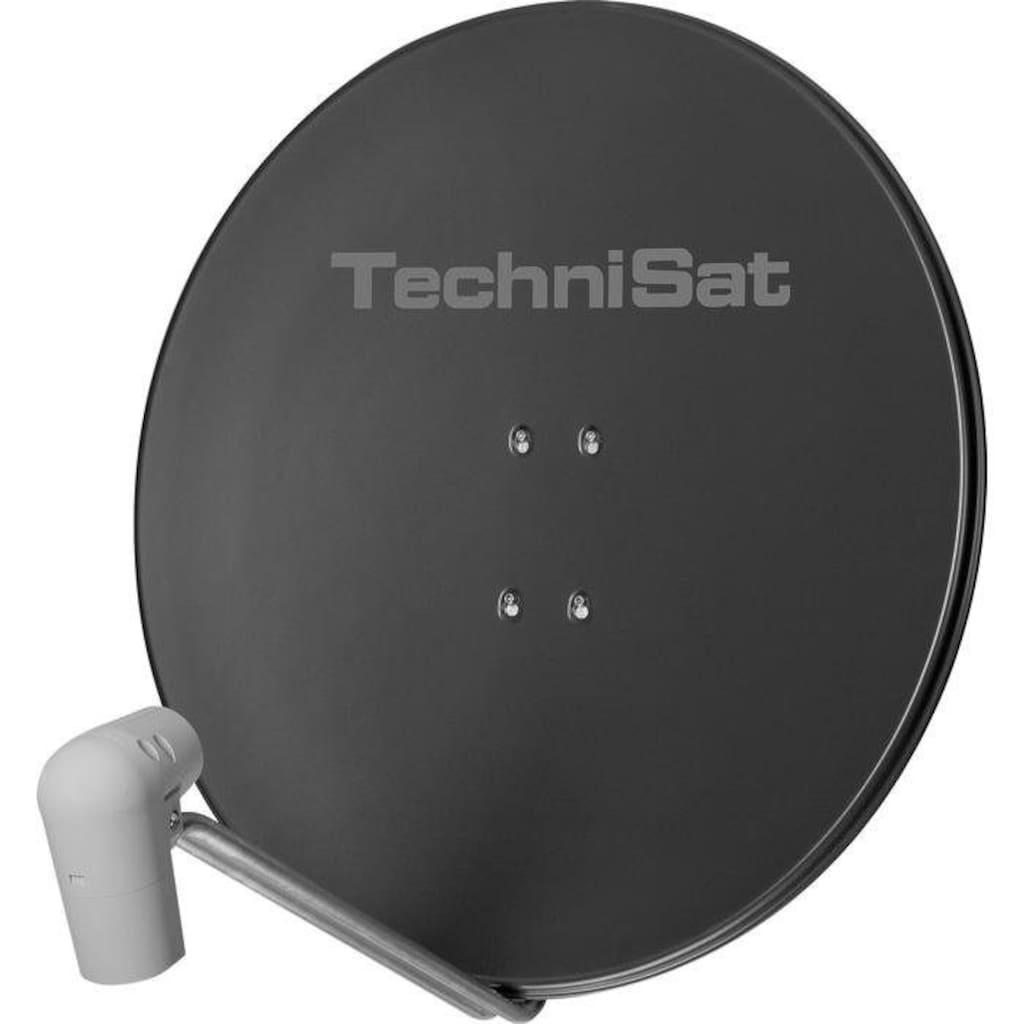 TechniSat Sat-Antenne 85 cm mit Quattro-Switch-LNB