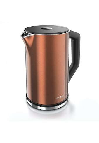 Arendo Wasserkocher »ELEGANT 1,5 Liter - Kupfer«, 1.5 l, 2200 W, mit... kaufen