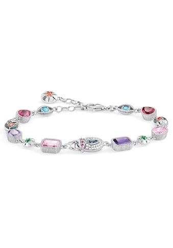 THOMAS SABO Silberarmband »Große Glücksbringer silber, A1915-964-7-L19v«, mit... kaufen