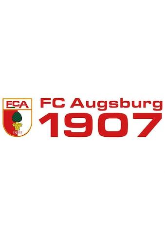 Wall-Art Wandtattoo »Fußball FC Augsburg 1907« kaufen