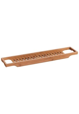 Zeller Present Badewannenablage »Bamboo«, zum Einhängen kaufen