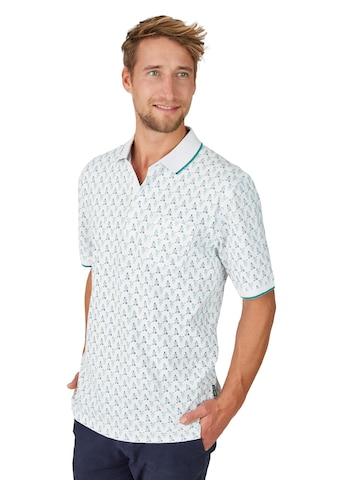 Hajo Pikee-Poloshirt mit Alloverdruck kaufen