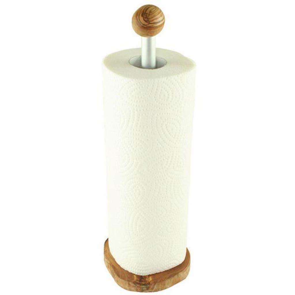 Olivenholz-erleben Küchenrollenhalter, Olivenholz, 32 cm