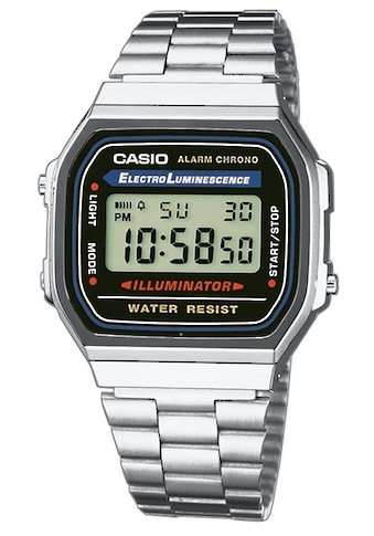 CASIO VINTAGE Chronograph »A168WA-1YES« kaufen