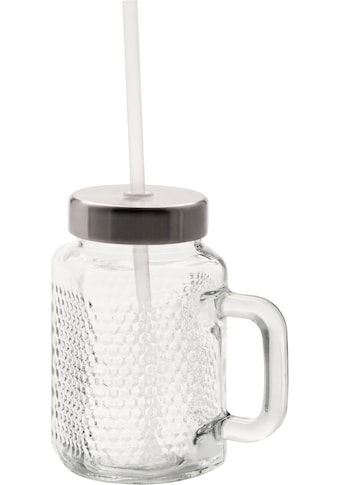 WMF Becher »Kult X Mason Cup-Set«, mit Deckel und Strohhalm kaufen