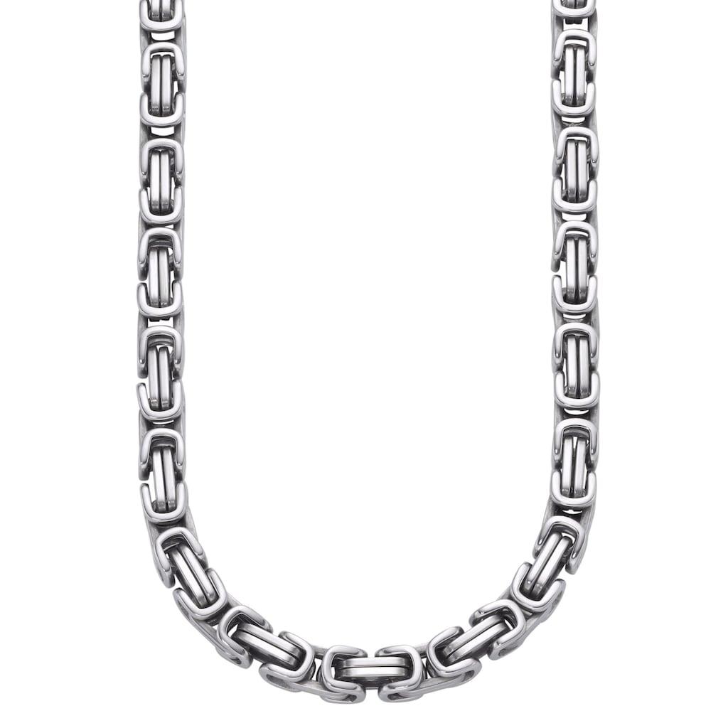 Firetti Edelstahlkette »Königskette, 6,5 mm breit«