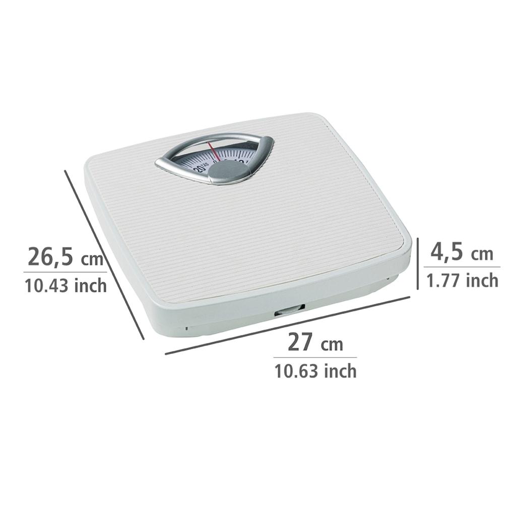 WENKO Personenwaage, analoge Körperwaage bis 130 kg