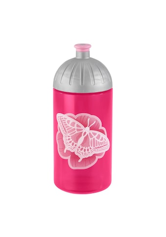 Step by Step Trinkflasche, Natural Butterfly, Pink kaufen