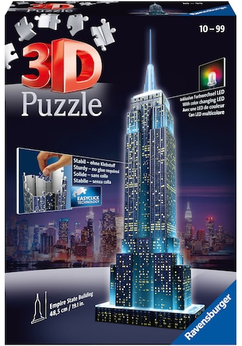 "Ravensburger 3D - Puzzle ""Empire State Building Night Edition"" kaufen"