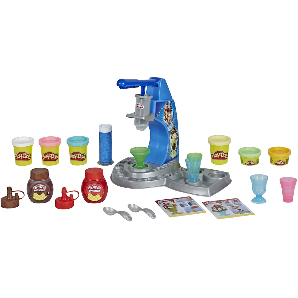 Hasbro Knete »Play-Doh Kitchen Creations, Drizzy Eismaschine mit Toppings«