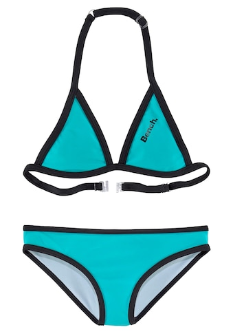 Bench. Triangel-Bikini, mit Logoprint an Top und Hose kaufen