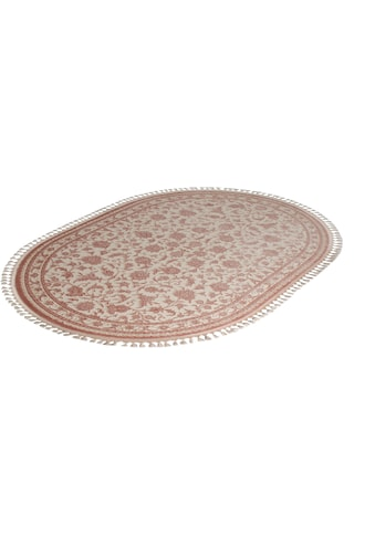 Teppich, »Delüks 6896«, Sanat, oval, Höhe 14 mm, maschinell gewebt kaufen