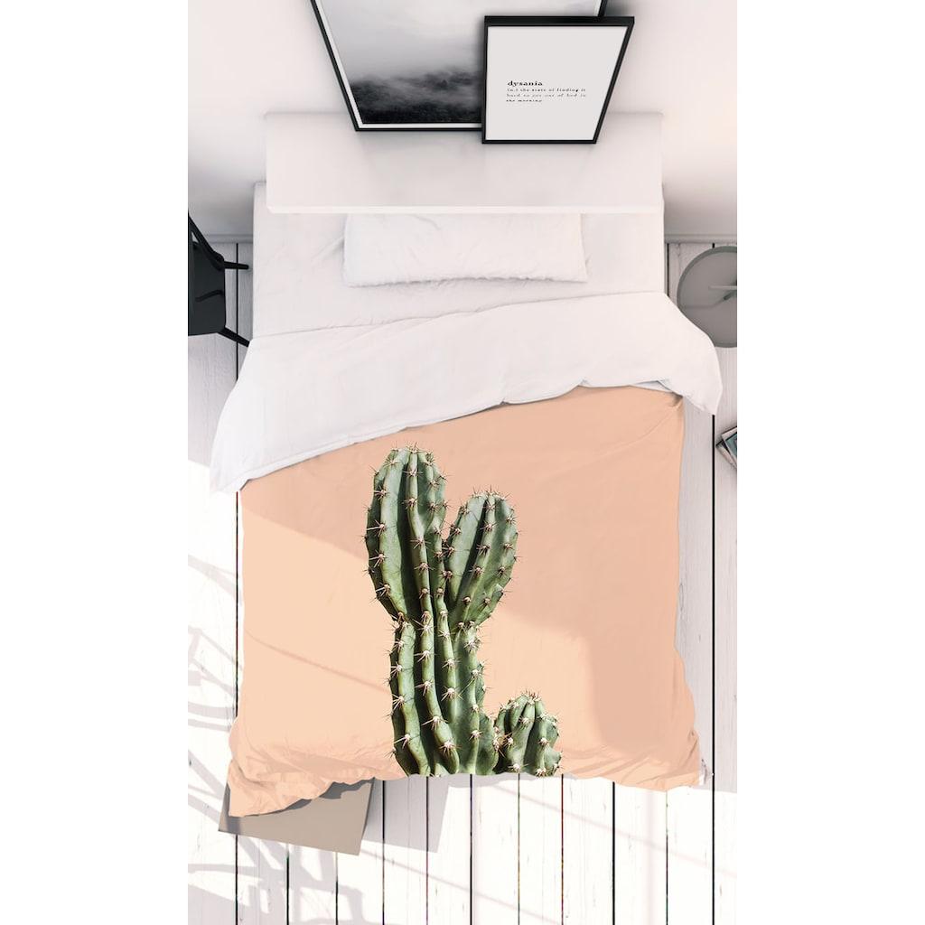 Juniqe Bettwäsche »Cactus 01«, In vielen weiteren Designs erhältlich
