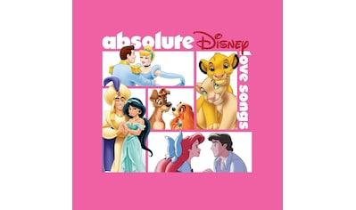 Musik-CD »Absolute Disney: Love Songs / Diverse Film/TV-Serien« kaufen