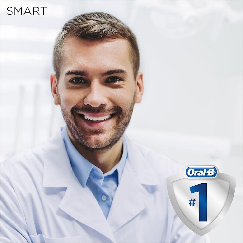 Oral B Elektrische Zahnbürste »Smart Expert«, 1 St. Aufsteckbürsten