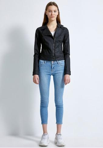 LTB Jeansjacke »ELLEN«, mit schräg verlaufendem Reißverschluss kaufen