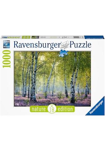 Ravensburger Puzzle »Birkenwald«, FSC® - schützt Wald - weltweit; Made in Germany kaufen