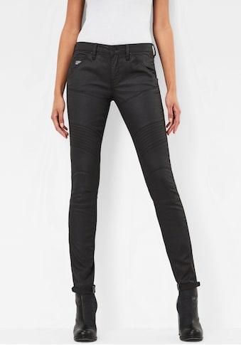 G-Star RAW Skinny-fit-Jeans »5620 Custom Mid Waist Skinny Jeans«, mit matter... kaufen