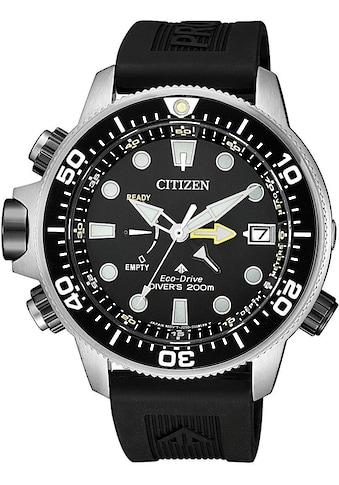 Citizen Taucheruhr »Promaster Eco-Drive Aqualand 200m, BN2036-14E«, (Set, 2 tlg., mit... kaufen