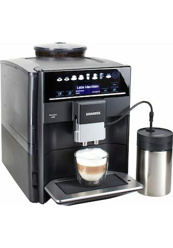 SIEMENS Kaffeevollautomat EQ.6 plus s400 TE654509DE, 1,7l Tank, Scheibenmahlwerk kaufen