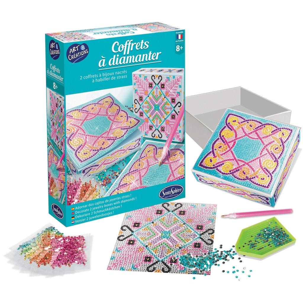 SentoSphere Kreativset »Diamanten-Schatulle«, (Set), Made in Europe
