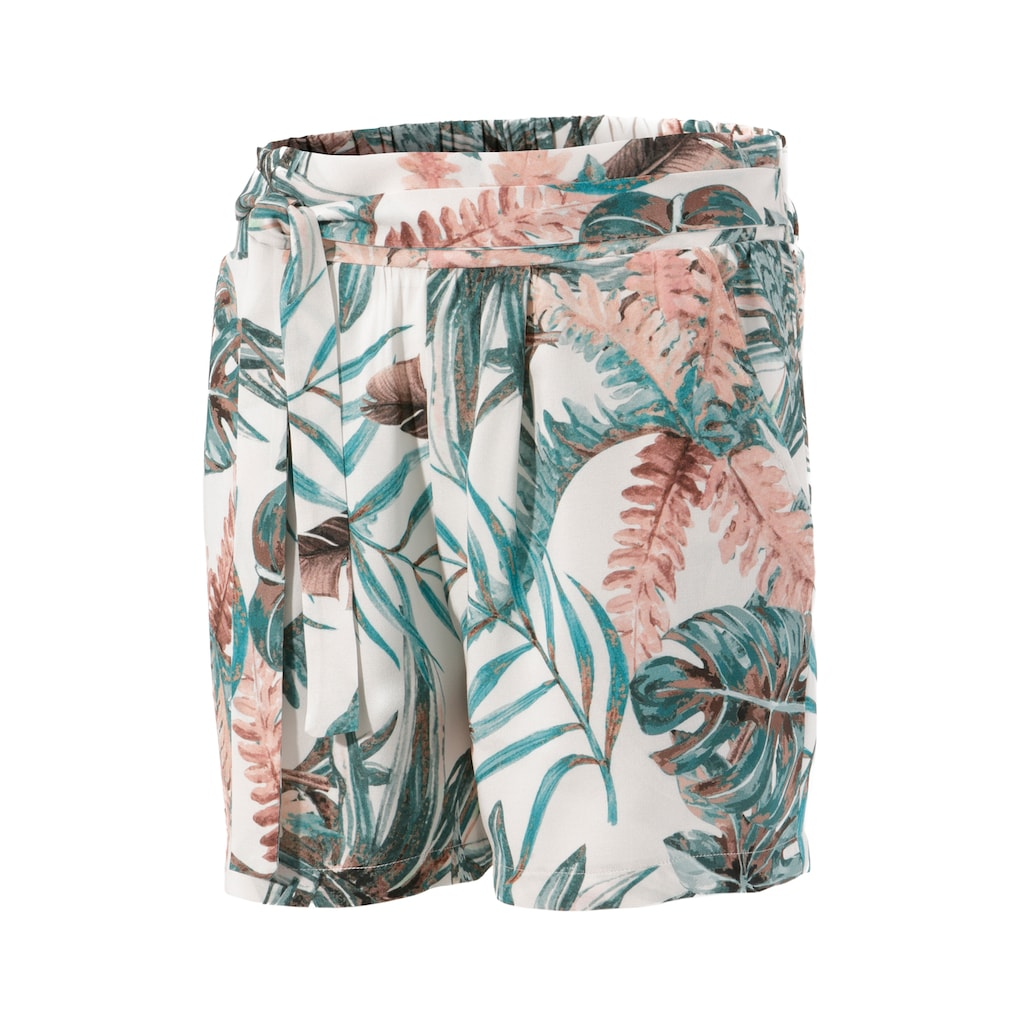 Aniston CASUAL Shorts, mit Tropical-Print
