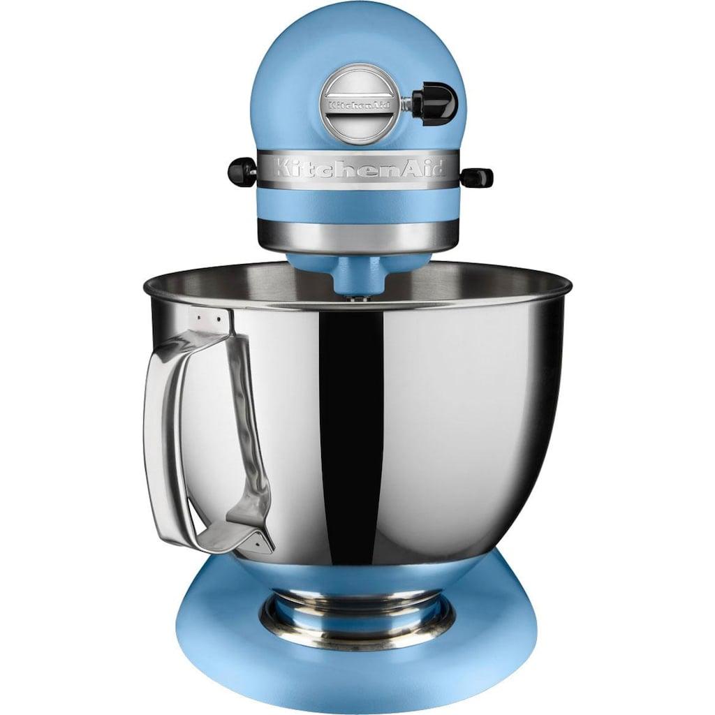 KitchenAid Küchenmaschine »Artisan 5KSM175PSEVB«, 300 W, 4,8 l Schüssel, inkl. Ganzmetall Fleischwolf im Wert von ca. 149,-€ UVP. Farbe: BLUE VELVET