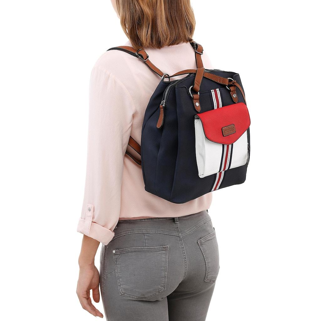 Rieker Cityrucksack »Canberra/Kalkutta«, auch als Handtasche tragbar